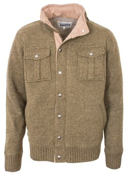 "F1412 - 27"" Military Sweater Jacket (Olive)"