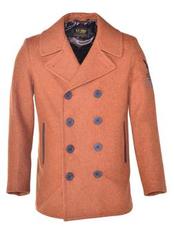 762 - Men's Wool Coat (Rust)