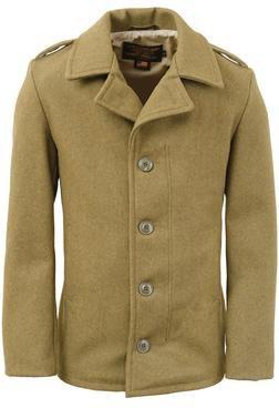 798 - M41 field coat in 24oz wool (Olive)