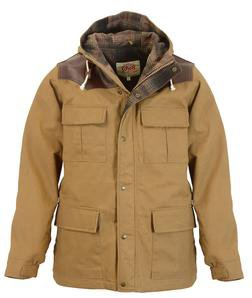 "91386 - 29"" Wax Coated Cotton Appalachia Parka (Khaki) (Khaki)"