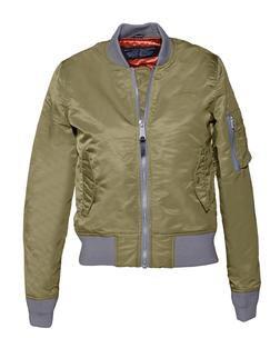 Khaki Women's Flight Jacket