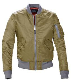 Khaki MA-1 Flight Jacket