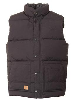 9356DV - Down Filled Vest with Patch Pockets