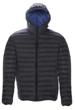 Black Nylon Down Jacket