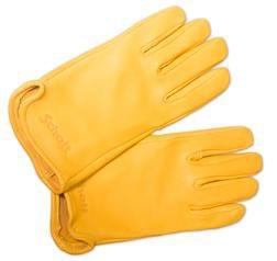 A102 - Deerskin Leather Gloves (Gold)