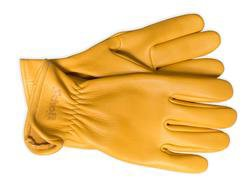 A103 - Deerskin Leather Gloves (Gold)