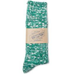 AIS2 - Slub crew sock (Green)