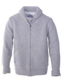Beige Sweater Jacket