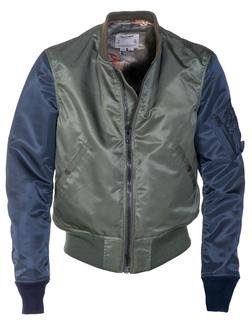 P9528 - Two Tone Flight Satin MA-1 Flight Jacket