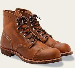 "R8115 - Red Wing Men's 6"" Iron Ranger boot"