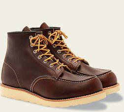 "R8138 - Red Wing Men's 6"" Classic Moc Toe boot"