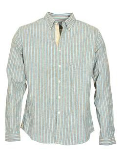 SH1423 - Slub Weave Striped Shirt (Multicolor)