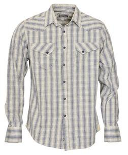 SH1428 - Dobby Western Shirt (Plaid)