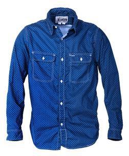 SH1501 - 100% Cotton Work Shirt (Navy)