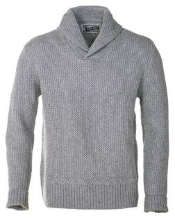 SW1501 - Shawl Collar Pullover (Grey)