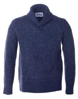SW1501 - Shawl Collar Pullover (Navy)