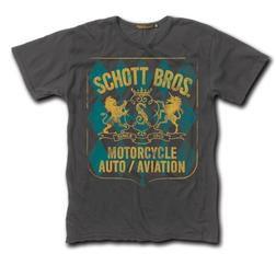TSHLD1 - Schott Crest Logo T-Shirt