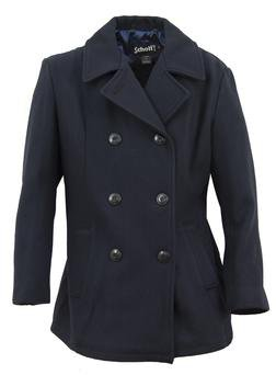 Women's Lightweight Fitted Peacoat
