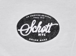 TOVAL1 - Schott Oval Logo Tee