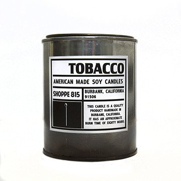 CNDL1 - Tin Candle-Candles (Tobacco)