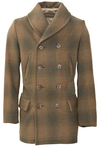 P758 - Plaid Mackinaw Coat